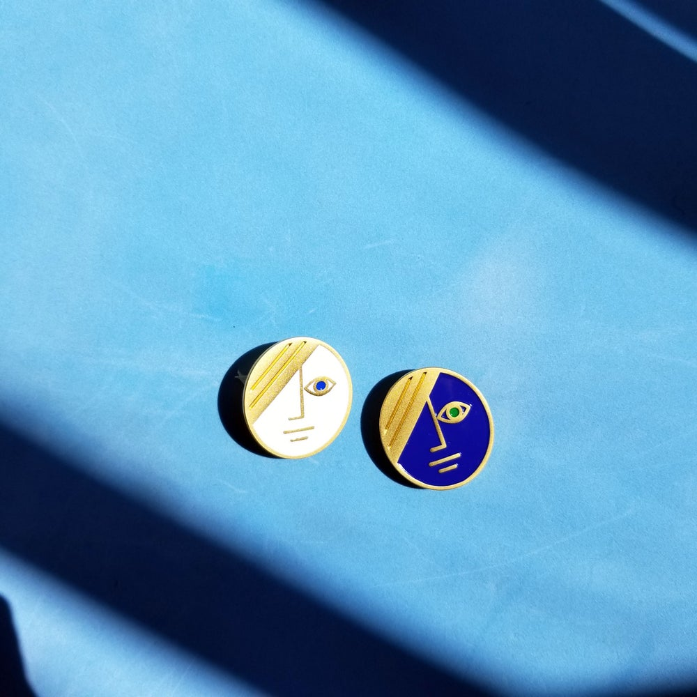 Image of PHASE & ECLIPSE BROOCH