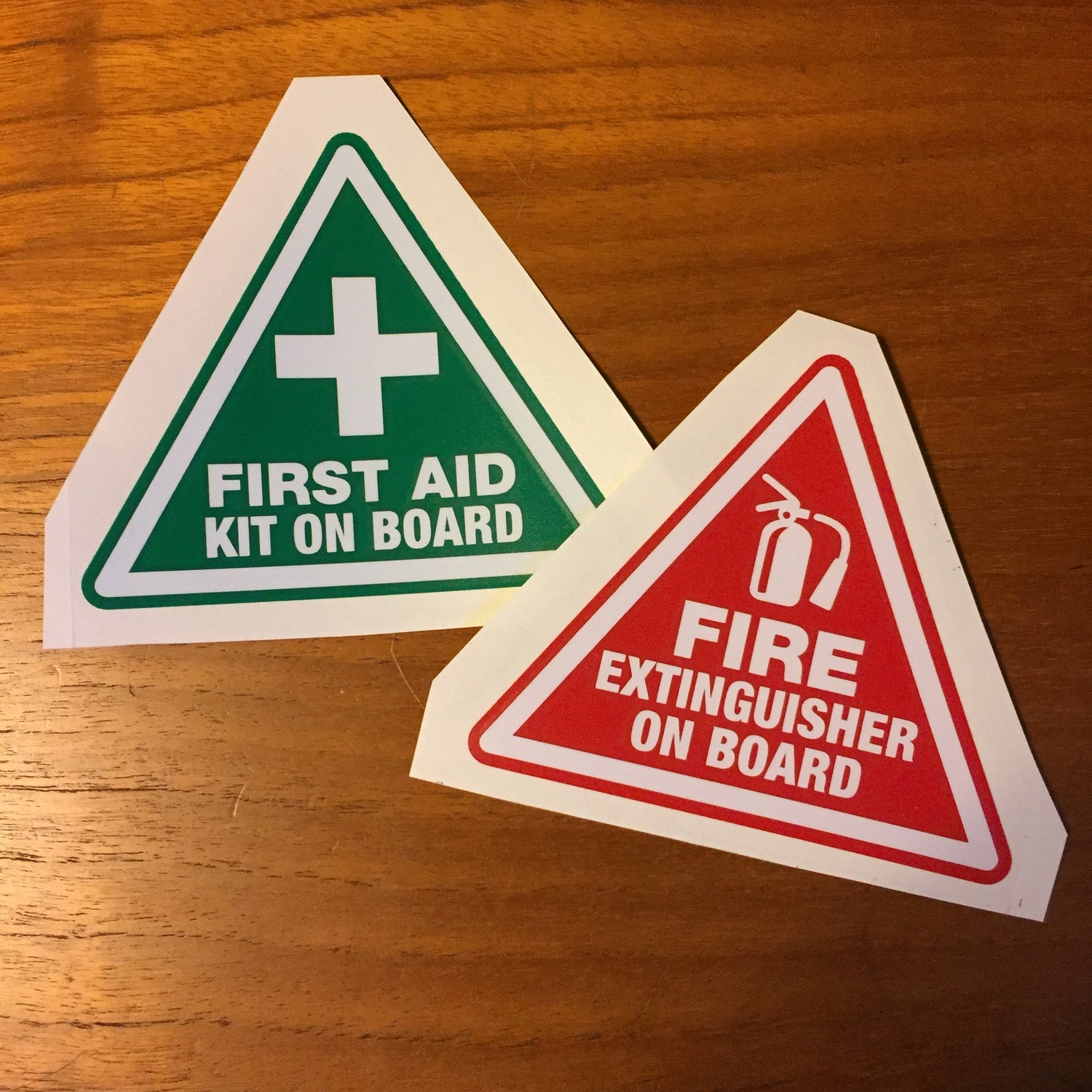 Image of First Aid / Fire Extinguisher Decal Set