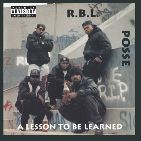 """Image of RBL Posse """"A Lesson To Be Learned"""" Album Tee"""