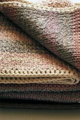Image of Delightful Baby Blanket - a modern wrap for the little ones - Pink & Grey Multi