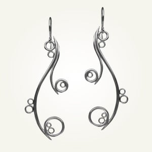 Image of Greek Isle Earrings, Sterling Silver