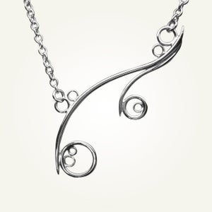 Image of Greek Isle Necklace, Sterling Silver