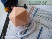 Image of D20 Soap On A Rope GEEKSOAP