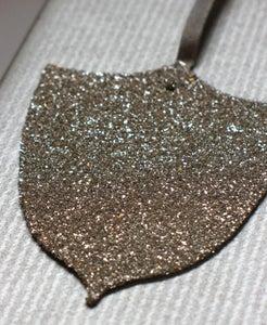 Image of Glitter Tag - Shield