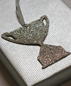 Image of Glitter Tag - Wide Trophy