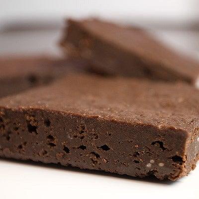 Image of gluten-free* fudge brownie