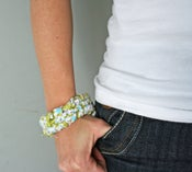 Image of  fabric bracelet pdf file