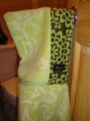 Image of Amy Butler Organic Lime Hooded Towel