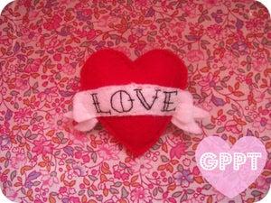 Image of Love Heart & scroll