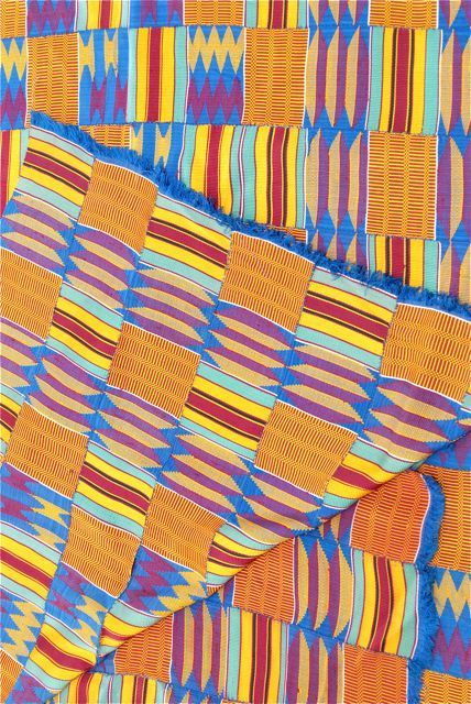 Image of Textile Panel from Ghana