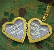 Image of The Literary Locket by Sarah Berhardt