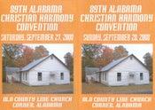 Image of 89th Alabama Christian Harmony Convention Combo Set - Saturday & Sunday - 6 CD set