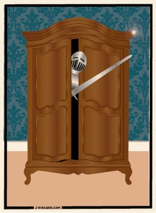 Image of Knight in Shining Armoire