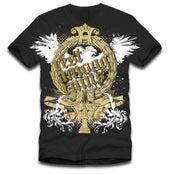 Image of Black 'Eagle' T-shirt
