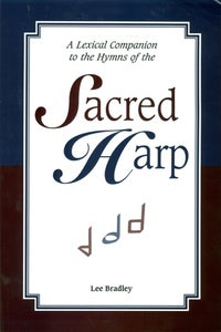 Image of A Lexical Companion to the Hymns of the Sacred Harp - Book
