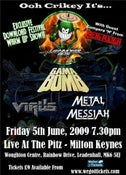 Image of Coach and Gig Ticket - Lawnmower Deth + Gama Bomb - June 5th, 2009