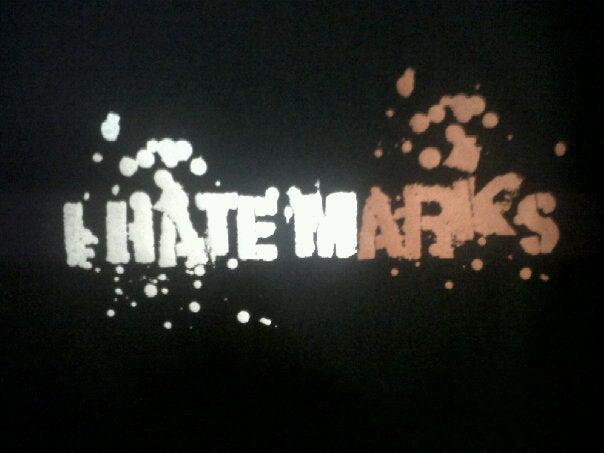 Image of I HATE MARKS BLACK EDITION