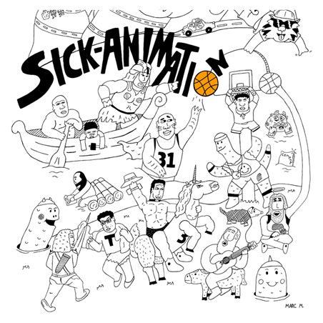 SA Multiple Characters Shirt - Sick Animation Shop
