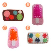 Image of little girl hair clips #7
