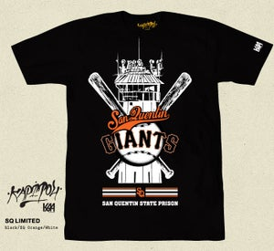 Image of SAN QUENTIN GIANTS SHIRT