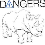 "Image of DANGERS ""ANGER"" LP VIT010 White Vinyl"