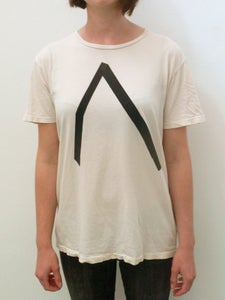 Image of A/Z tshirt in cream