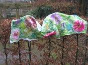 Image of felt shawl