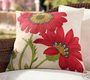 Fabric Freak Ff Poppy Outdoor Fabric Pillow Panel Bold