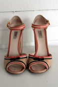 Image of Prada Candy Striped Mary-Janes