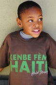 Image of Kenbe Fem Haiti Kids Tee (Brown)