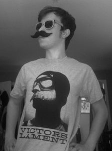 Image of Mustached Man VL T-Shirt