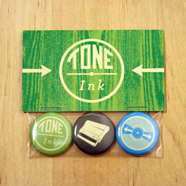 Image of Tone Ink Button Pack