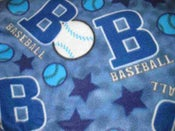 Image of Baseball Throw Blanket (1 In Stock)