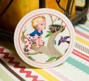 Image of Little Boys Vintage Circle Tags - Set of 12