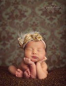 Image of TWO PATTERNS Lyla Rose Vintage Luxe Headband flower Fascinator Birdcage Veil Baby Tutorial PDF AND S