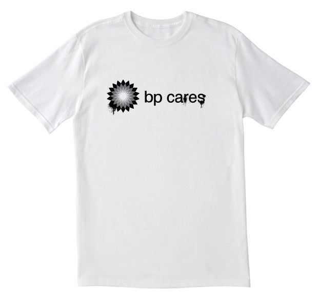 Image of BP Cares (white)