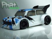Image of Phat Bodies 'BANZAI MINI' for Losi Mini-8ight and Carisma GT14B/GTB Schumacher EMB-1