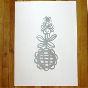 Image of Flower Tower (no color)
