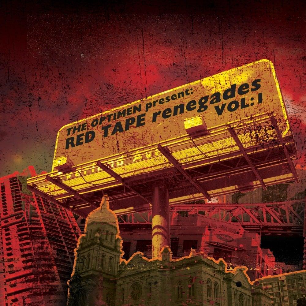 "The Optimen — ""The Optimen Present: Red Tape Renegades Vol"