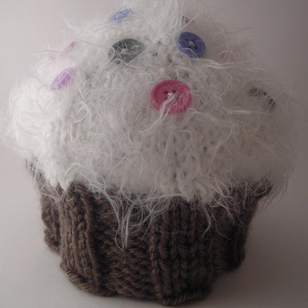 Knitted Head Band Patterns : Cupcake Baby Hat Knitting Pattern / Knit it Up Yarns