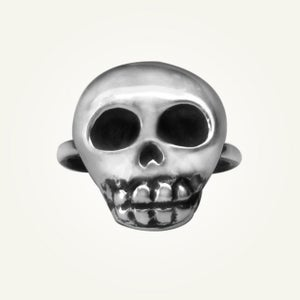 Image of Skully Ring, Sterling Silver