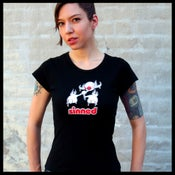 Image of Bauhaus Cap Sleeve T-Shirt