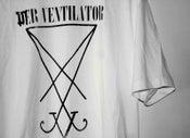 Image of DER VENTILATOR WHITE t.shirt