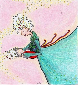 Image of Starry Mum Print