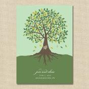 Image of {Jessie} Carved Tree Wedding Invitation