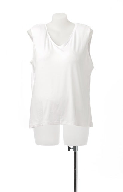 Image of Plus size basic stretch singlet