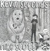 "Image of Kevin Seconds / Mike Scott split 7"" (Blue Vinyl)"