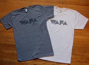 Image of WAFA logo tees