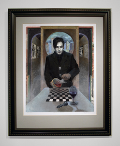 Image of A Portrait of Damon Zex - (Framed Limited Edition Fine Art Print)