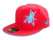Image of RED & BLUE FITTED {Limited Edition }